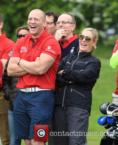 Mike Tindall and Zara Philips 11