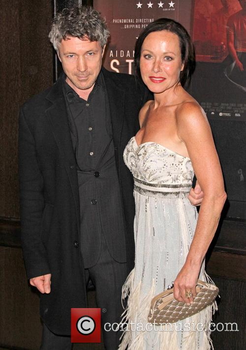 Aidan Gillen and Amanda Mealing 1