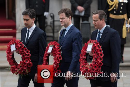 Nick Clegg, David Cameron and David Miliband 1