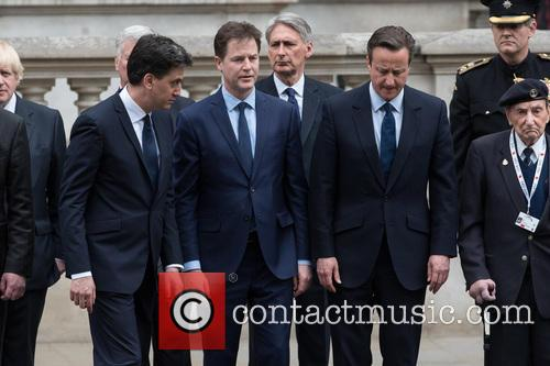 Nick Clegg, David Cameron and David Miliband 10
