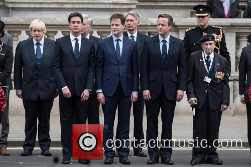 Nick Clegg, David Cameron, David Miliband and Boris Johnson 11