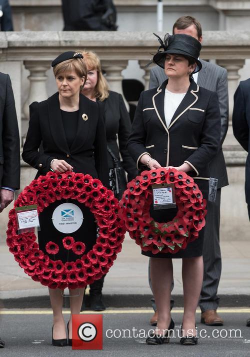 Nicola Sturgeon and Northern Ireland Minister Arlene Foster 2