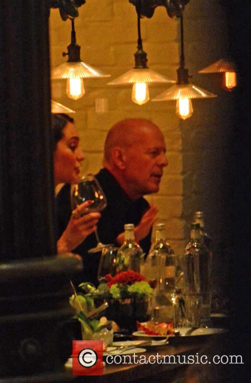 Bruce Willis, His Wife Emma Heming-willis Having Dinner With Karolina Kurkova and Archie Drury 9