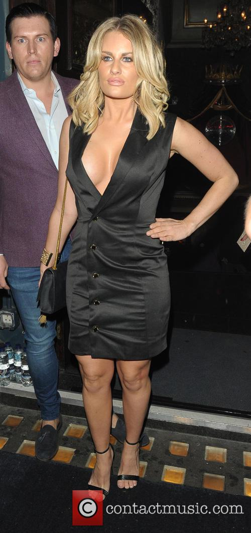 Danielle Armstrong's birthday party at Cafe De Paris