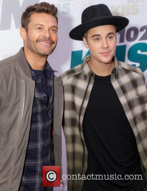Ryan Seacrest and Justin Bieber 2
