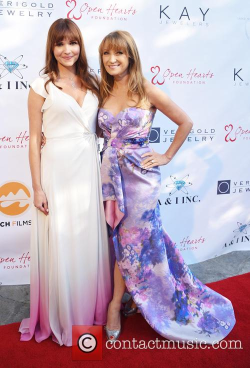 Valerie Azlynn and Jane Seymour