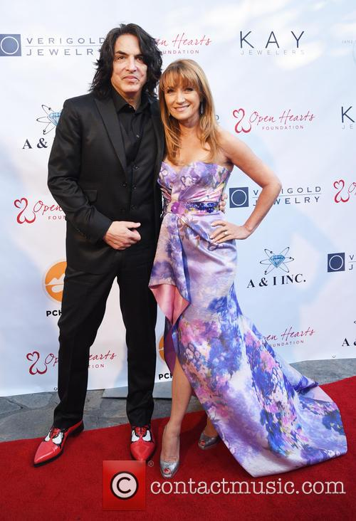 Paul Stanley and Jane Seymour 2