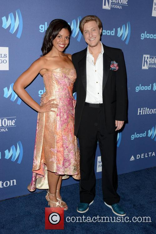 Karla Mosley and Scott Turner Schofield 1