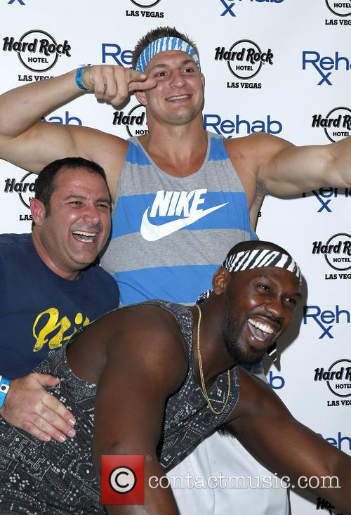 Rob Gronkowski and Chandler Jones 2