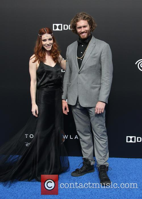 T. J. Miller and Kate Gorney 3
