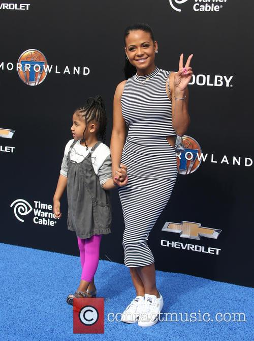 Christina Milian and Violet Madison Nash 3