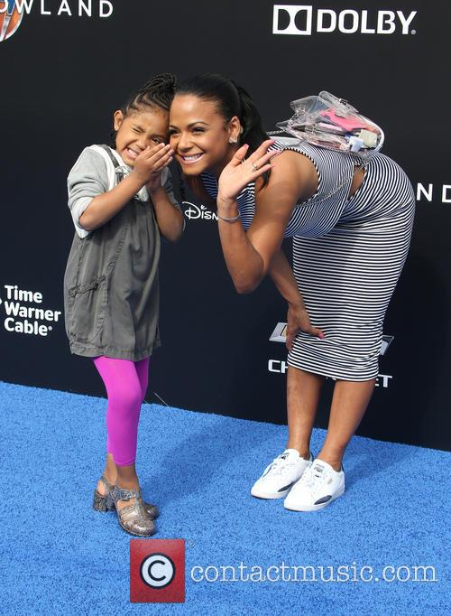 Christina Milian and Violet Madison Nash 5
