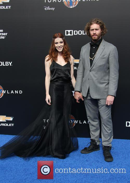 T. J. Miller and Kate Gorney 6