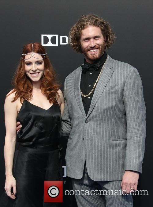T. J. Miller and Kate Gorney 8