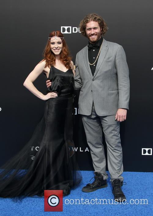 T. J. Miller and Kate Gorney 9