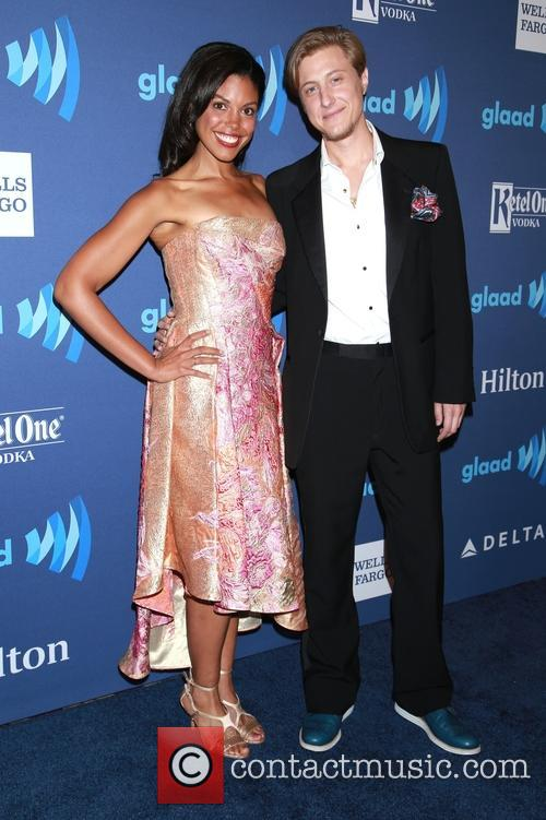 Karla Mosley and Scott T. Schofield 1