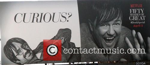 Ricky Gervais advertisement billboard