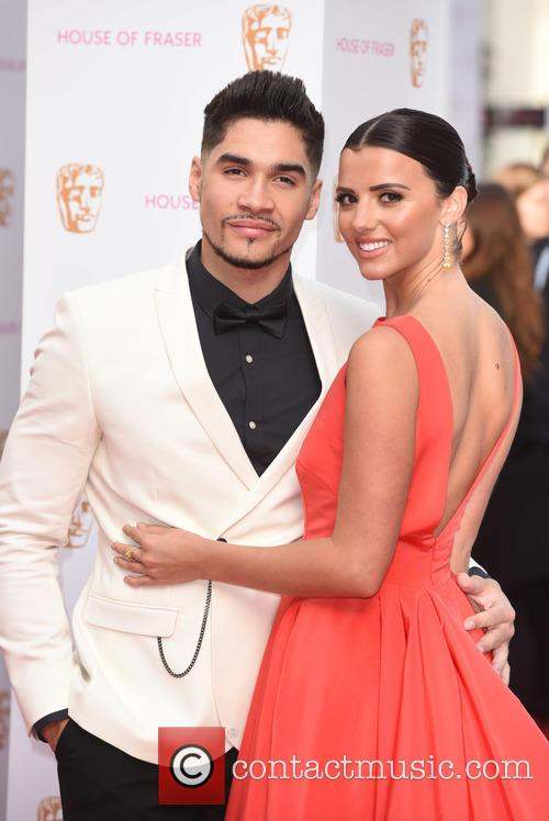 Lucy Mecklenburgh and Louis Smith 1