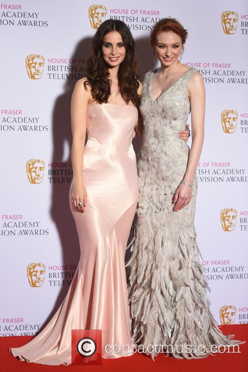 Heida Reed and Eleanor Tomlinson 2