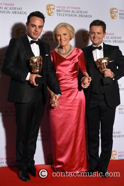 Anthony Mcpartlin, Declan Donnelly and Mary Berry 3