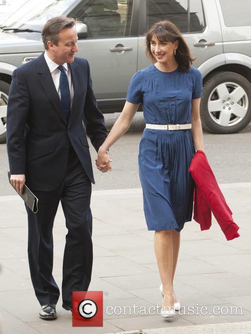 David Cameron and Samantha Cameron 2