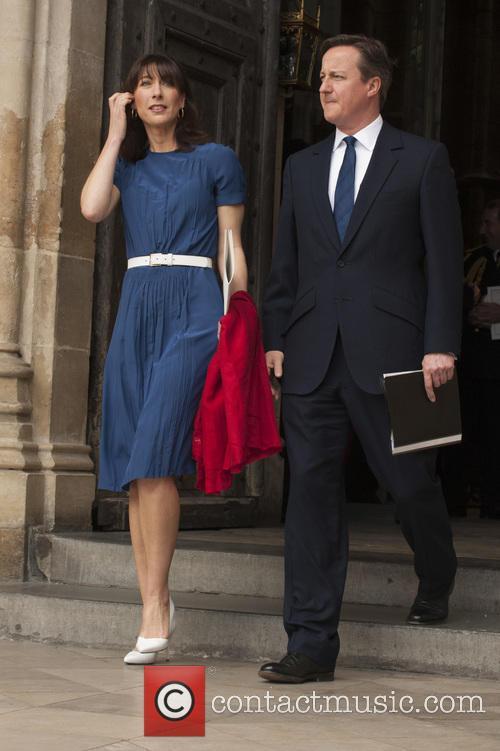 Samantha Cameron and David Cameron 4