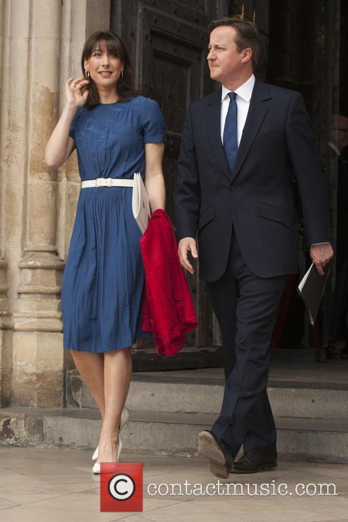 Samantha Cameron and David Cameron 5