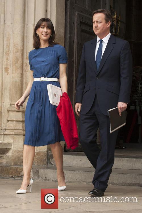 Samantha Cameron and David Cameron 1