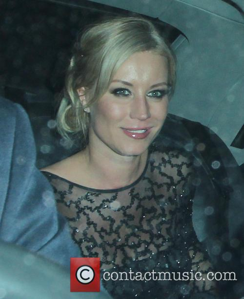 Celebrities leave the BAFTA after party at Grosvenor...