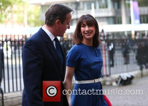 David Cameron and Samantha Cameron 1