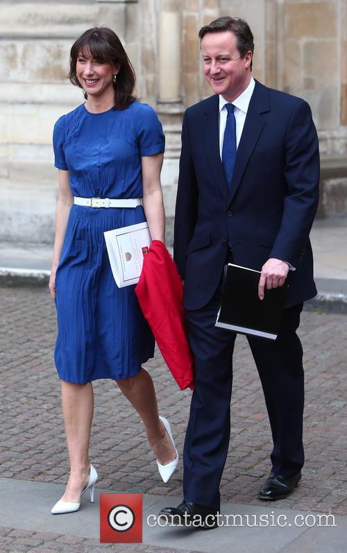 Samantha Cameron and David Cameron 4