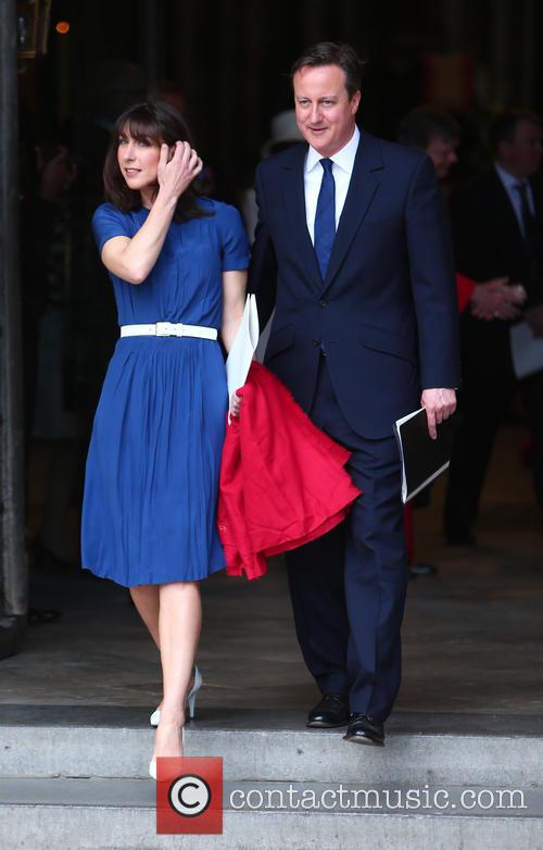Samantha Cameron and David Cameron 5