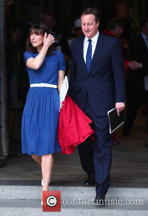 Samantha Cameron and David Cameron 6