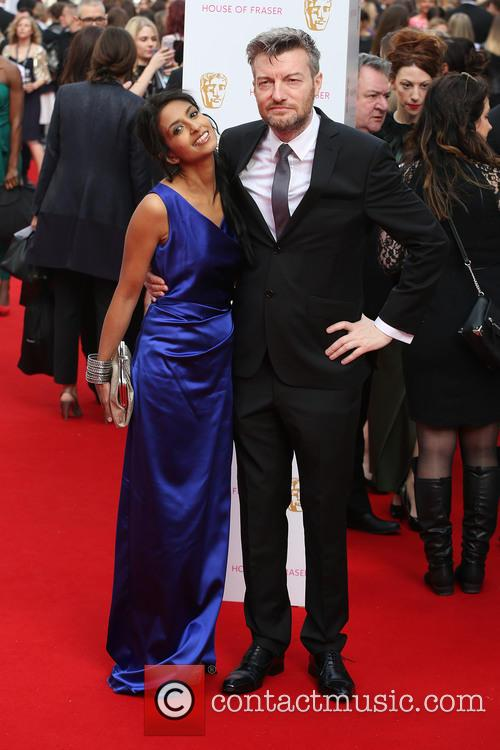 Konnie Huq and Charlie Brooker 1