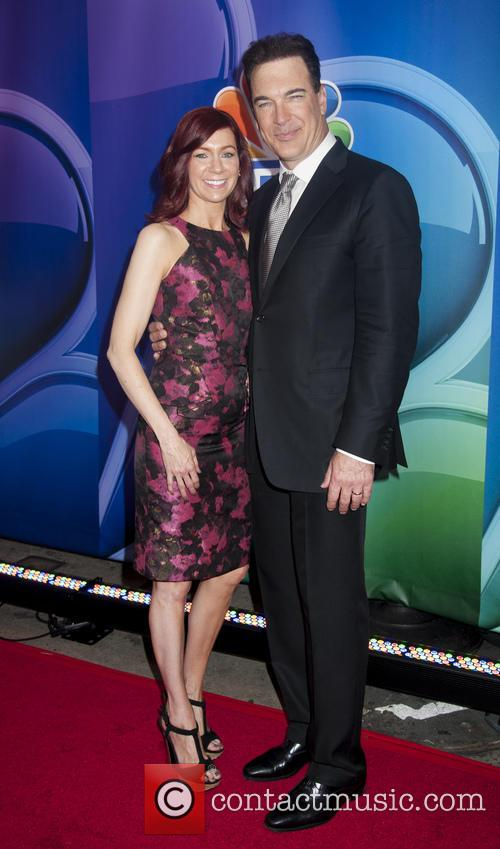 Carrie Preston and Patrick Warburton