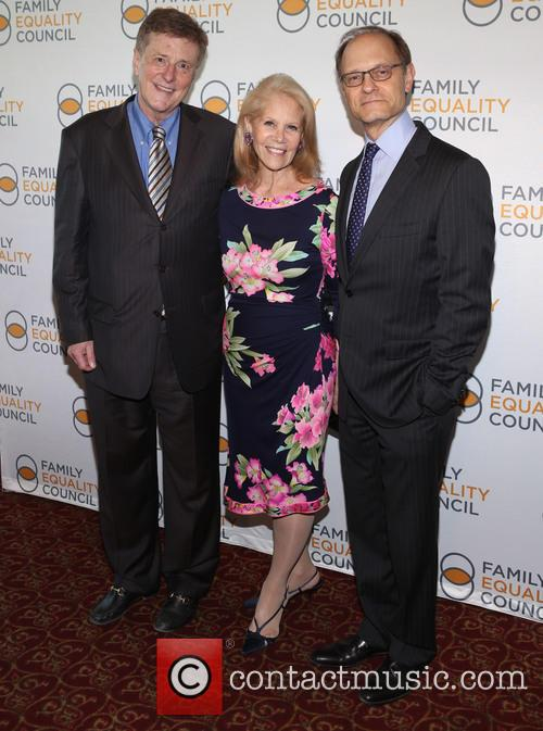 Brian Hargrove, Daryl Roth and David Hyde Pierce 1