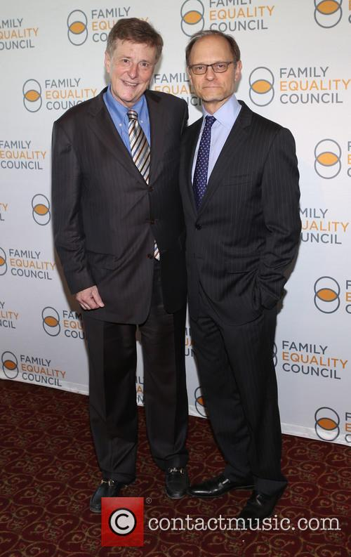 Brian Hargrove and David Hyde Pierce 3
