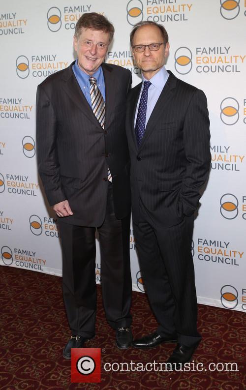 Brian Hargrove and David Hyde Pierce 3