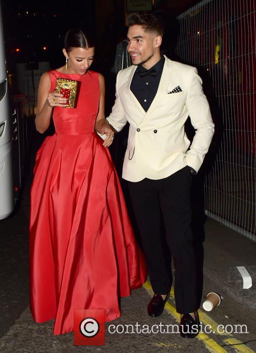Lucy Mecklenburgh and Louis Smith 6
