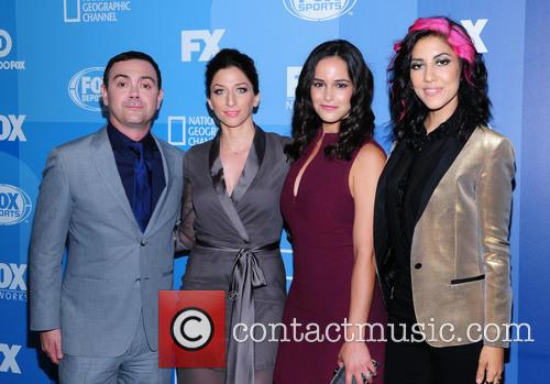 Joe Lo Truglio, Chelsea Peretti, Melissa Fumero and Stephanie Beatriz 2