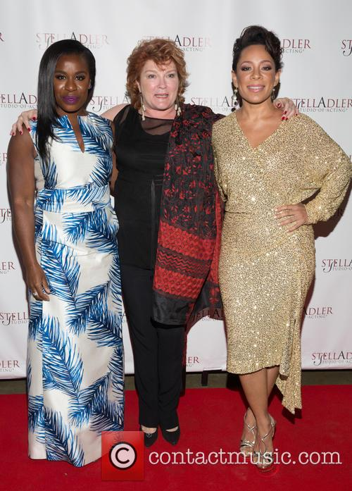 Uzo Aduba, Kate Mulgrew and Selenis Leyva 2