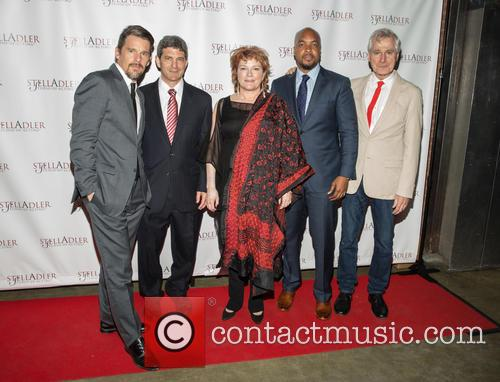 Ethan Hawke, Tom Oppemheim, Kate Mulgrew, Trymaine Lee and John Patrick Shanley 6