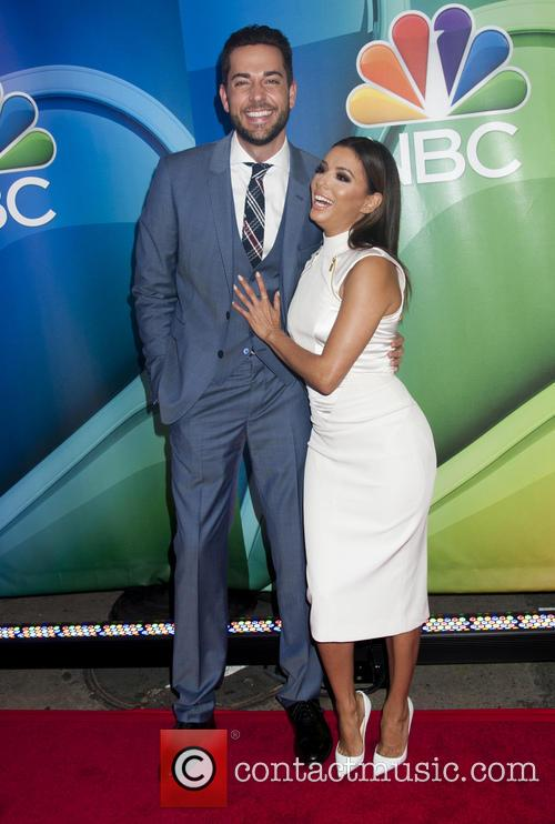 Zachary Levi and Eva Longoria 1