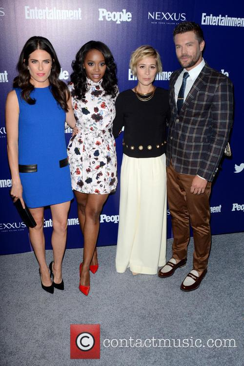 Karla Souza, Aja Naomi King and Charlie Weber 3