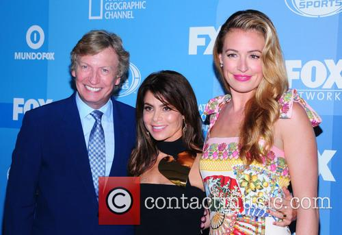 Nigel Lythgoe, Paula Abdul and Cat Deeley 9