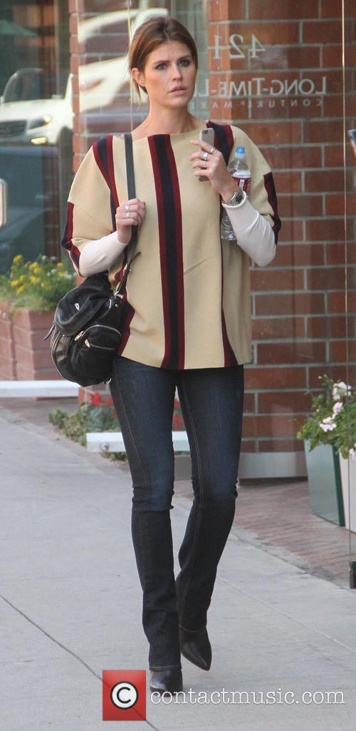 Alexandra Daddario goes shopping in Beverly Hills