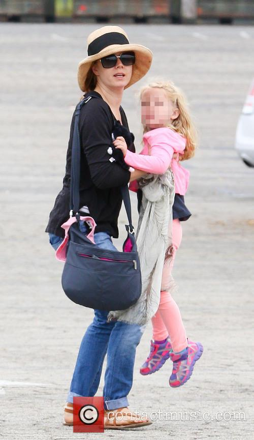 Amy Adams takes daughter Aviana to Los Angeles...