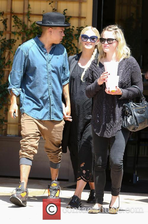 Ashlee Simpson and Evan Ross 2