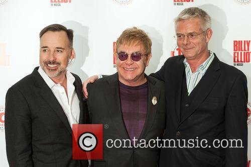 David Furnish, Elton John and Stephen Daldry 5