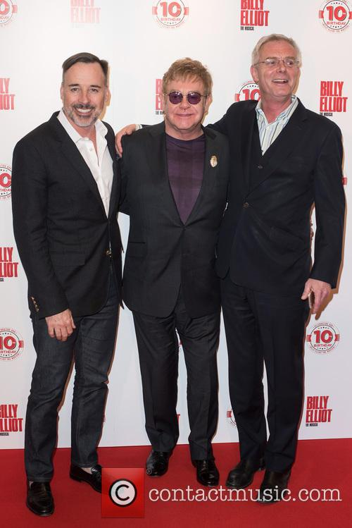 David Furnish, Stephen Daldry and Elton John 8